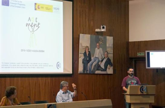 Presentación de Agement, a cargo del Dr. Pagador Carrasco